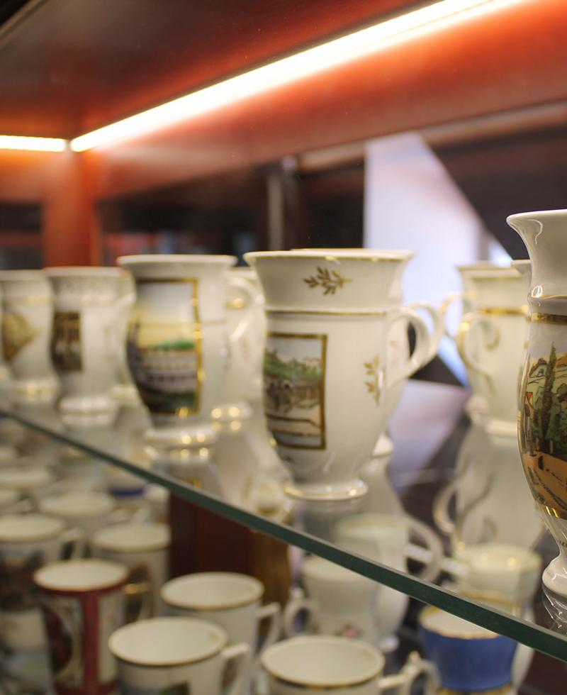Museum of spa cups